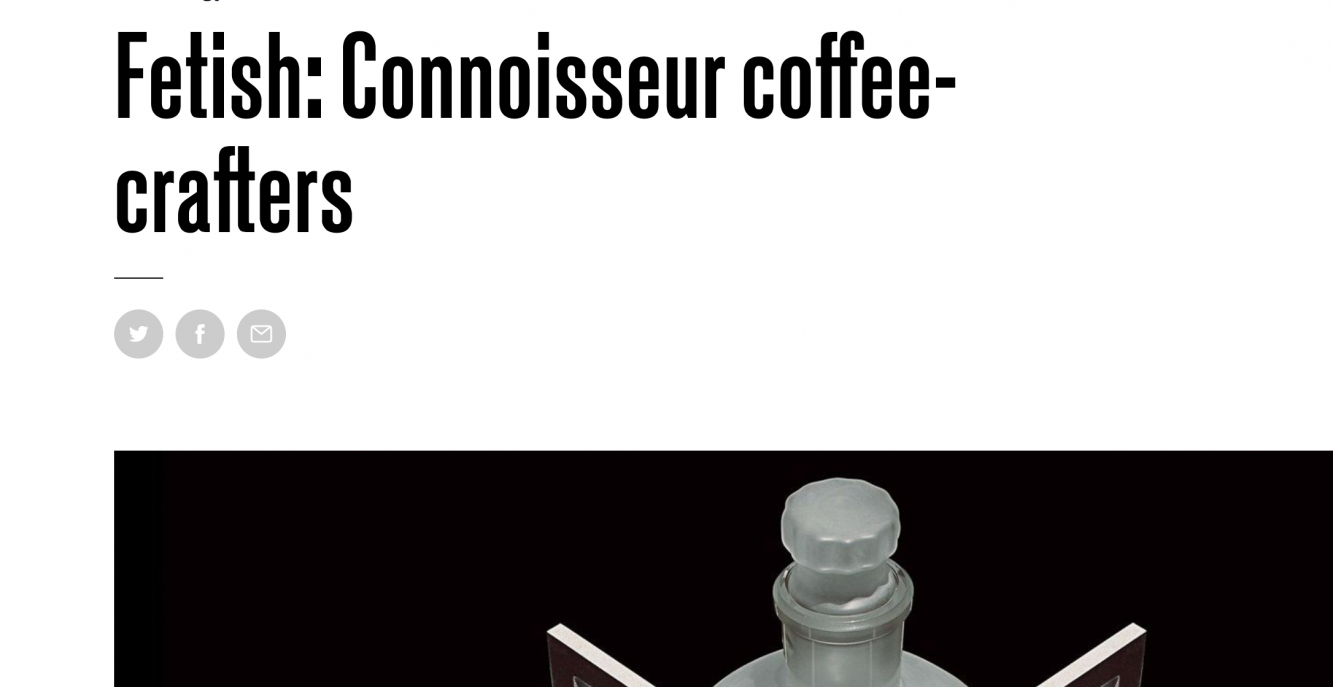Featured on Wired – Proper Coffee