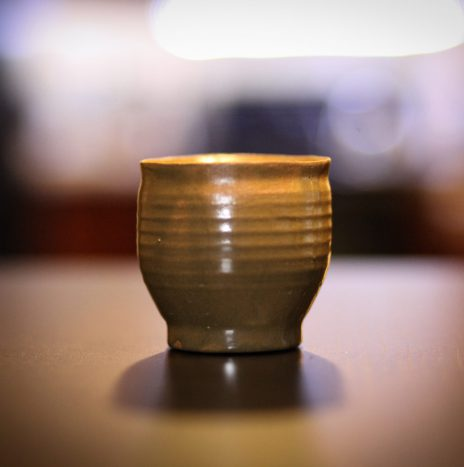 Bespoke Ceramic Cup in Green